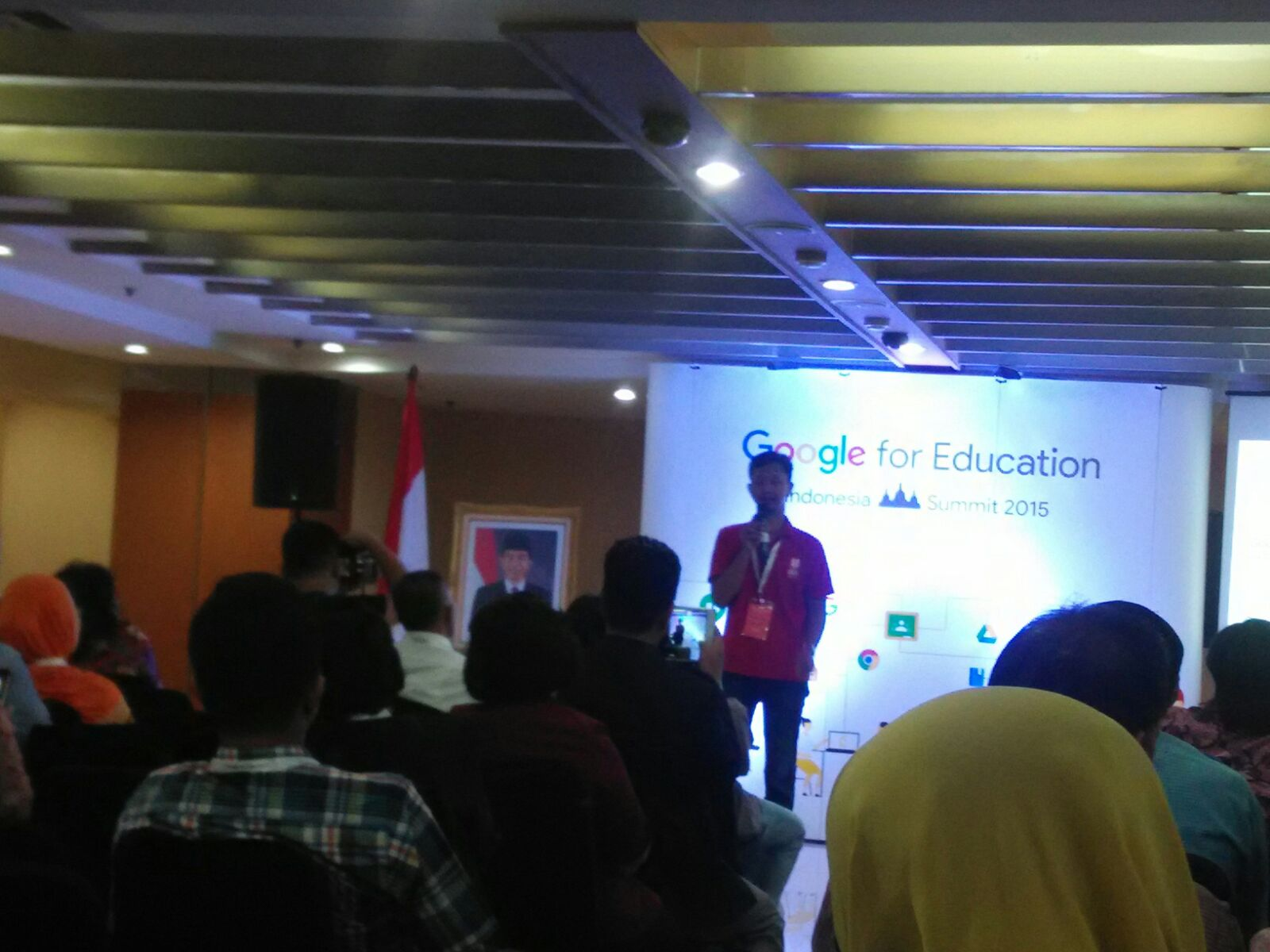 Google for Education Indonesia Summit 2015: Google Classroom Brings Learning to Students Anytime, Anywhere