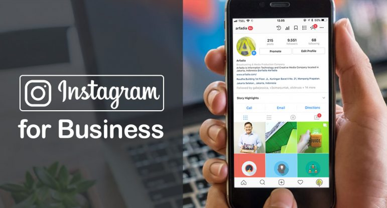 Instagram Business Arfadia